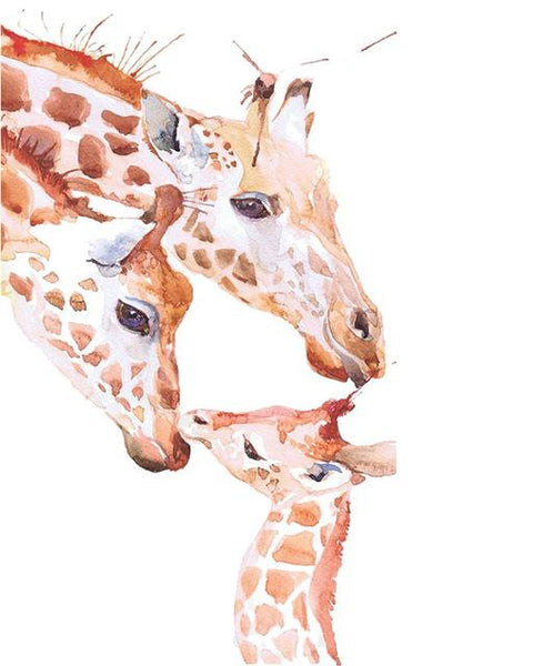 2019 5d Diy Diamond Painting Kits Giraffe Family  VM9892