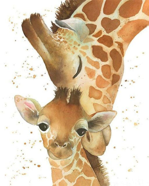 2019 5d Diy Diamond Painting Kits Cute Giraffe Baby VM9891