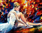 2019 5d Diy Diamond Painting Kits Oil Painting Style Dancer Girl  NA00931