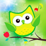 2019 5d Diy Diamond Painting Kids Cartoon Cute Owl  VM1911 (1766959513690)