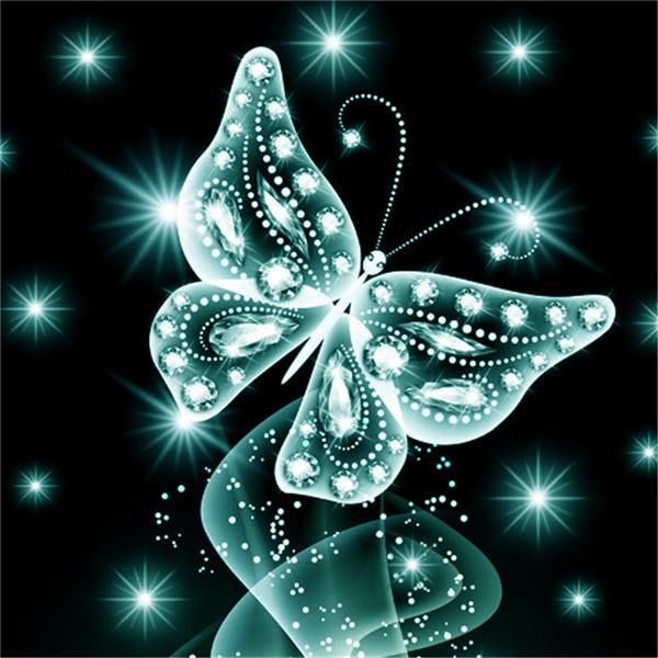 2019 5d DIY Diamond Painting Butterfly Kits Best Gift VM90207