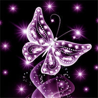 2019 5d DIY Diamond Painting Butterfly Kits Best Gift VM90205