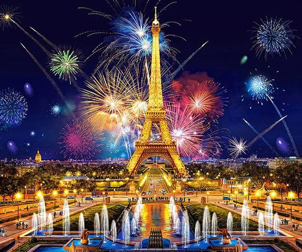 2019 5d Diy Diamond Painting Kits Eiffle Tower VM8117