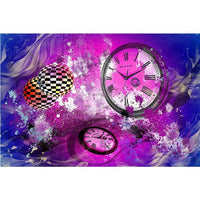 Dream Clock Home Decorate 5d Diy Diamond Painting Kits VM8118