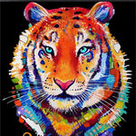 2019 5d Diy Diamond Painting Kits Animal Tiger Gift VM20241