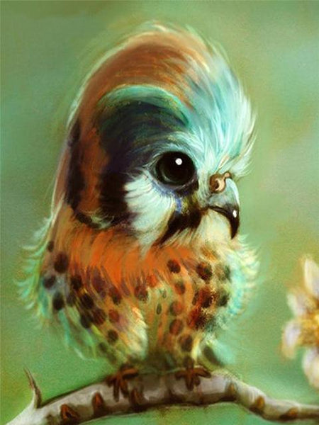 2019 5d Diy Diamond Painting Kits Cute Bird Picture VM8270