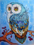 2019 5d Diy Diamond Painting Kits Owl On The Tree VM82504