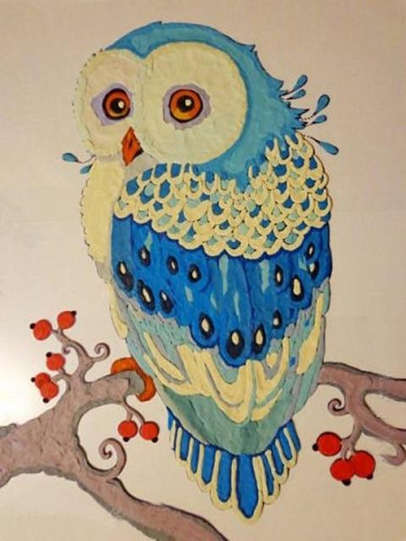 2019 5d Diy Diamond Painting Kits Cute Owl Picture  VM8201