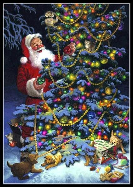 5d Diy Diamond Painting Kits Special Full Drill Christmas Tree NA0404