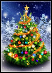 Hot Sale Christmas Tree 5d Diy Embroidery Cross Stitch Diamond Painting Kits NA0399