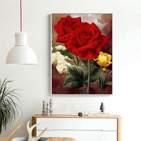 2019 5d Diy Diamond Painting Kits Flowers VM4019 (1767021314138)
