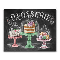 New Arrival Hot Sale Blackboard Cake Pattern 5D DIY Diamond Painting Kits VM7015