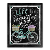 New Arrival Blackboard Bicycle 5D DIY Full Square Diamond Painting Kits VM7004