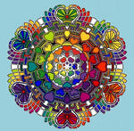 Modern Art Hot Mandala Rhinestone 5d Diy Diamond Painting Kits VM20526