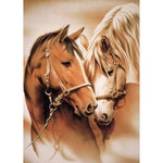 5d DIY Diamond Painting Embroidery Kits Animal Horse VM92106