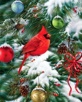 2019 Bird Diamond Painting Kits Winter Hot Sale Christmas VM8558