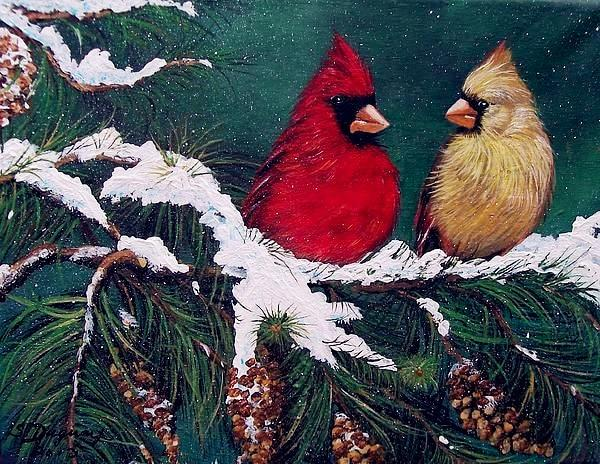 2019 5D DIY Diamond Painting Kits Christmas Bird Bling Bling  VM8559