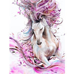 2019 5d Diy Diamond Painting Kits Long-hair Horse VM9112