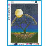 2019 5D DIY Diamond Painting Kits Dream Tree In Night Sky  VM7394