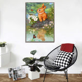 Cheap Rabbit 5D Diy Embroidery Cross Stitch Diamond Painting Kits NA0255