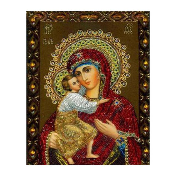 2019 5d Diy Diamond Painting Kits New Catholicism Religious Figures VM4038 (1767024984154)