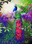2019 5d DIY Diamond Painting Kits Wall Decoration Peacock VM09002