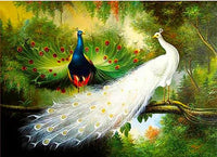 2019 5d Diy Diamond Painting Kits Animal Peacock  VM8159