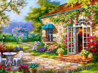 2019 5d Diy Diamond Painting Kits Landscape Garden VM9154
