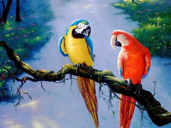 2019 5d Diy Diamond Painting Kits Bird Needlework VM09140