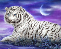 5d Diy Diamond Painting Kits Animal Tiger  VM9074