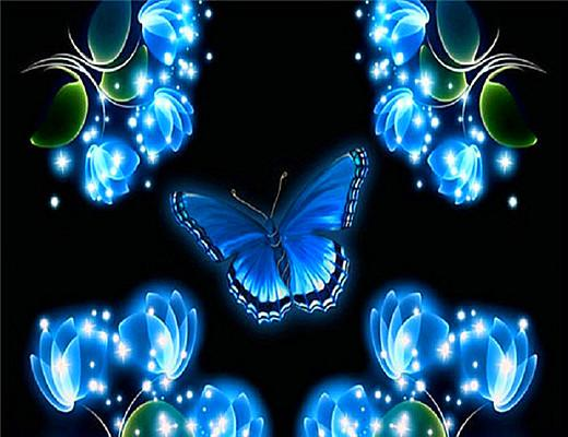 5d Embroidery Hot Sale Dream Butterfly Diy Diamond Painting Kits VM9037