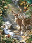 2019 5d Diy Diamond Painting Kits Dream Animal Deer VM8935