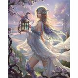 2019 5d Diy Diamond Painting Kits Beautiful Girl With Dragon VM8371