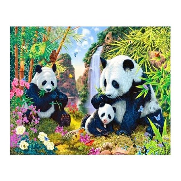 2019  5d Diy Diamond Painting Kits Cute Panda VM7851