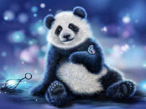 2019 5d Diy Diamond Painting Kits Cute Panda VM7853