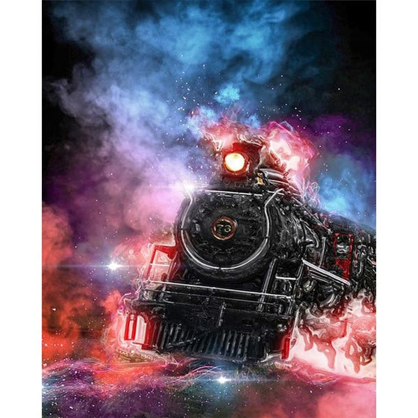 2019 5d DIY Diamond Painting Kits Dream Train VM8033