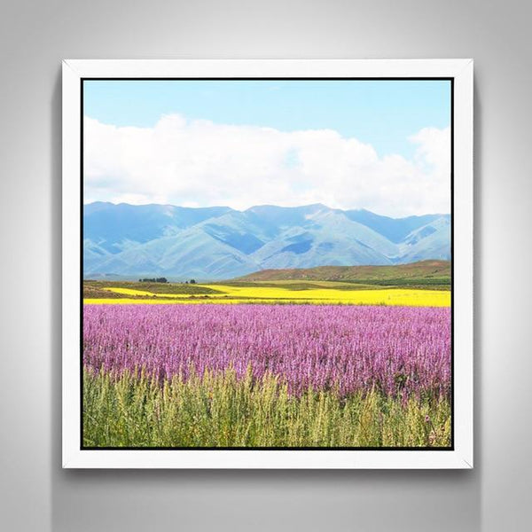 Hot Full Drill Lavender Fields Nature 5D Diy Cross Stitch Diamond Painting Kits NA0048