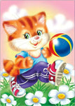 2019 5d Diamond Painting Set Cartoon Cat Home Decor VM20078
