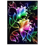2019 5d Diy Diamond Painting Kits Abstract Flower VM9719