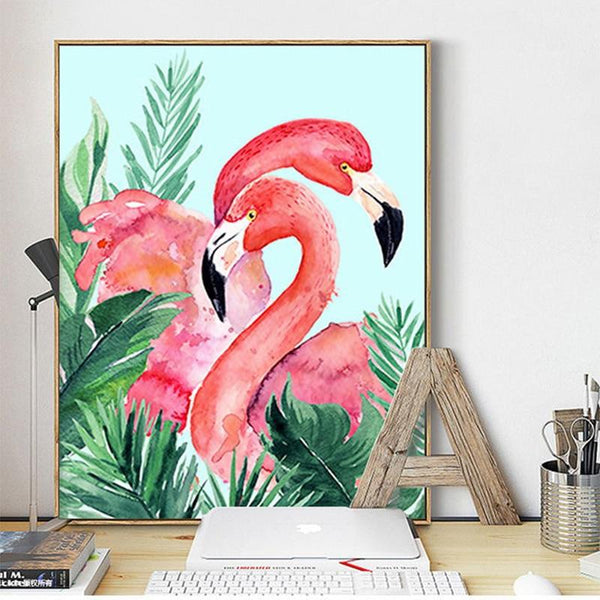 2019 5D DIY Diamond Painting Kits Flamingo NA00375