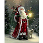 Fantasy Full Square Drill Santa Claus 5d Diy Diamond Painting Kits NA02344