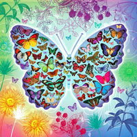 2019 5D DIY Diamond Painting Kits Beautiful Butterfly VM90406