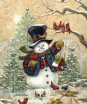 5d Diy Diamond Painting Kits Cartoon Style Snowman NA0371