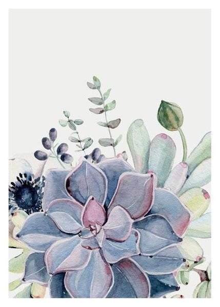 5D Diy Diamond Painting Kits Best Watercolor Cactus NA0356