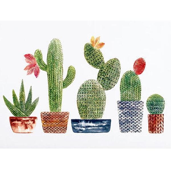 5D Diy Diamond Painting Kits Cartoon Plant Cactus NA10388