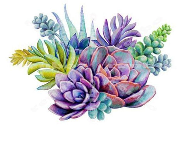 2019 5D Diy Diamond Painting Kits Plant Cactus NA00385