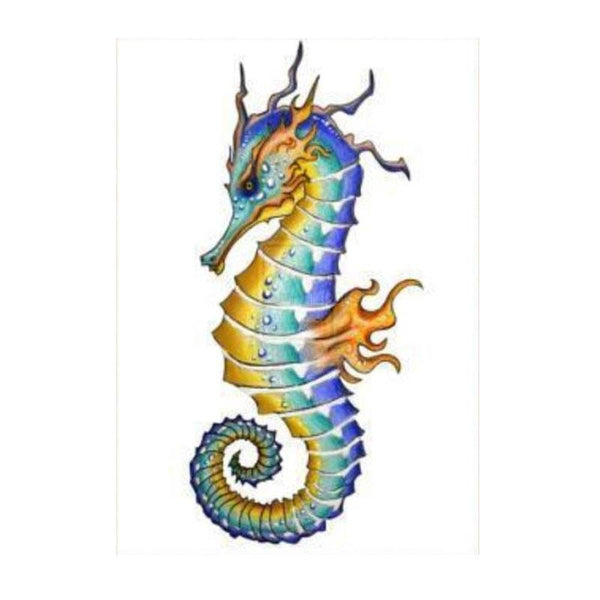 Modern Art Seahorse 5D Diy Embroidery Cross Stitch Diamond Painting Kits NA0305