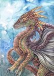 Fantasy Dragon 5D DIY Embroidery Cross Stitch Diamond Painting Kits NA089