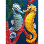 5d Diy Diamond Painting Kits Special Full Drill Seahorse NA0490