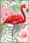 Hot Sale Full Drill Flamingos 5D Diy Cross Stitch Diamond Painting Kits NA0289